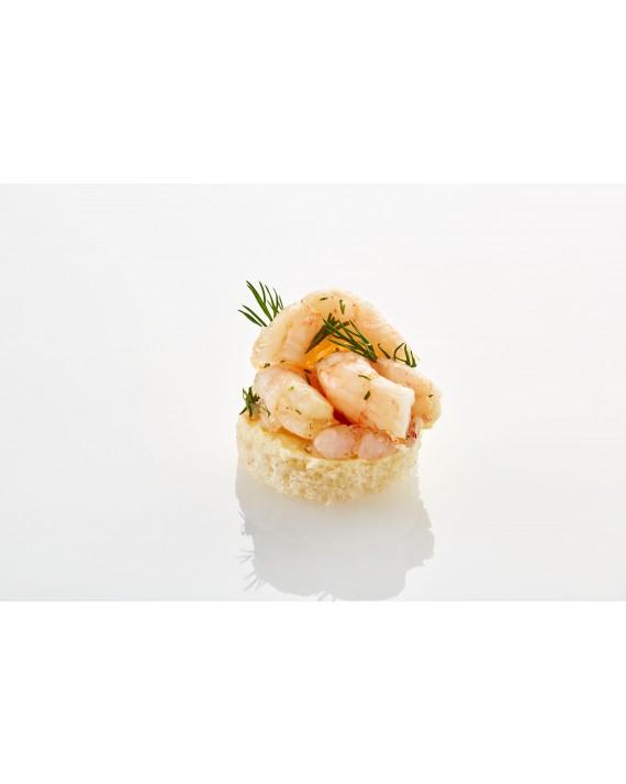 Canapé Crevetten pikant