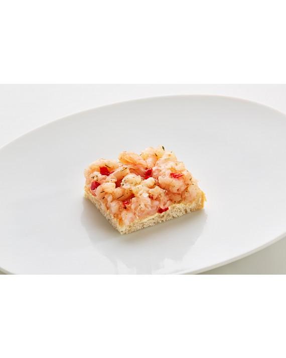 Diplomatensandwich Crevetten pikant klein