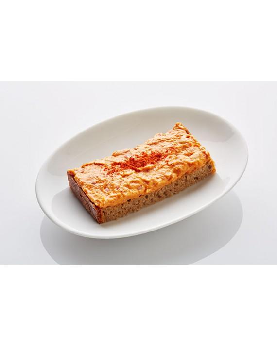 Schwarzbrot Scharfer Fleischsalat mit Bohnen