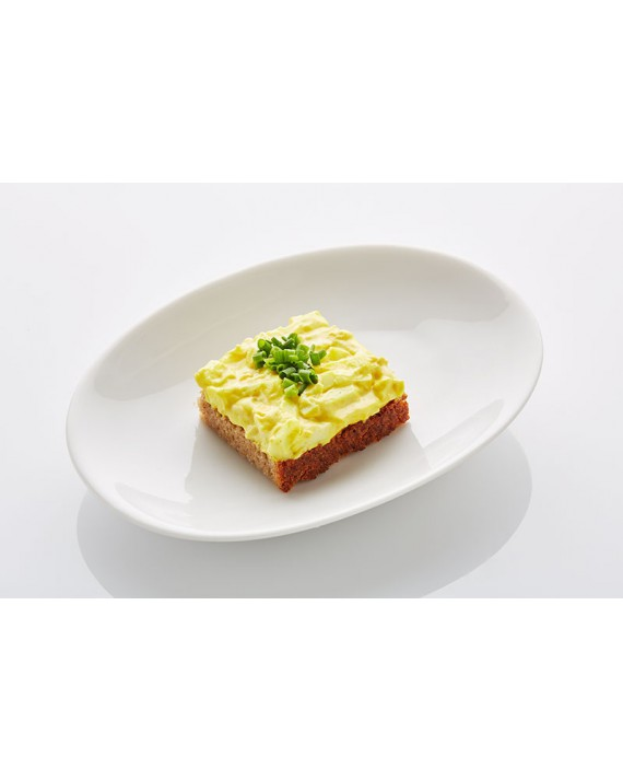 Schwarzbrot Curry-Ei mit Schnittlauch klein