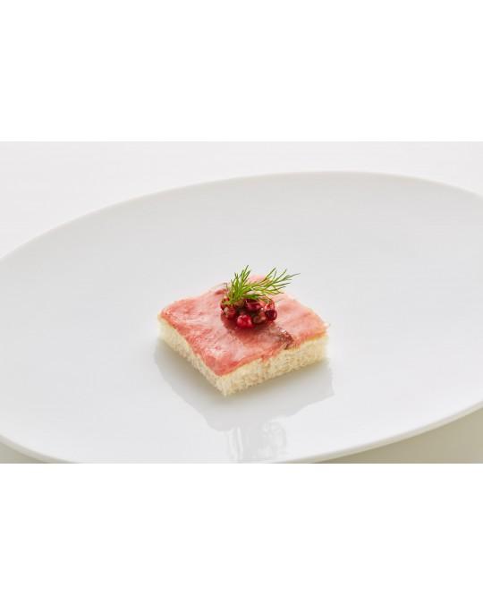 Canapé Roastbeef englisch