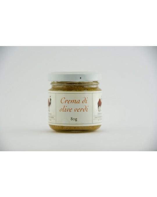 Crema di olive verdi  80g