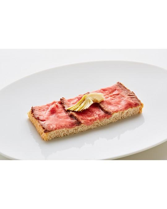 Diplomatensandwich Roastbeef mit Sauce Tartar