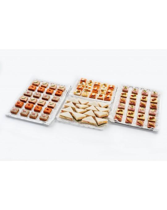 """Cocktail-Sandwiches in Happengröße """"Für den großen Hunger"""""""