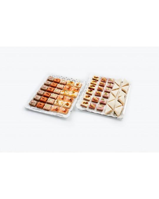 """Cocktail-Sandwiches in Happengröße """"Für den kleinen Hunger"""""""