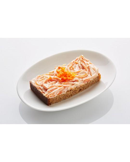 Schwarzbrot Karotten-Orangen-Ingwer Aufstrich