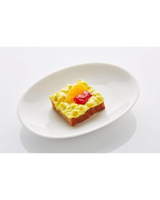Schwarzbrot Maissalat mit Mandarinen klein