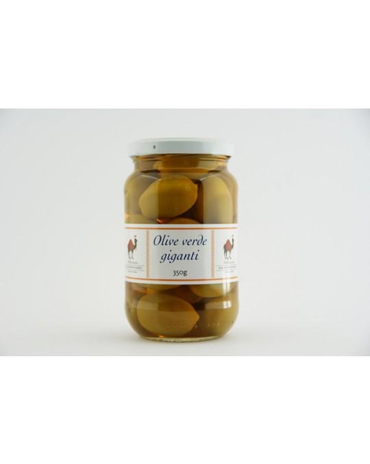 Olive verdi giganti  350g