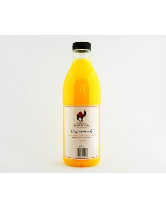 Orangensaft frisch gepresst 1l